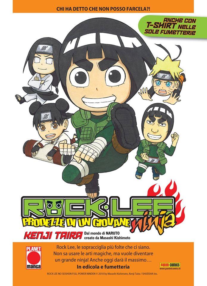 rock lee prodezze di un giovane ninja